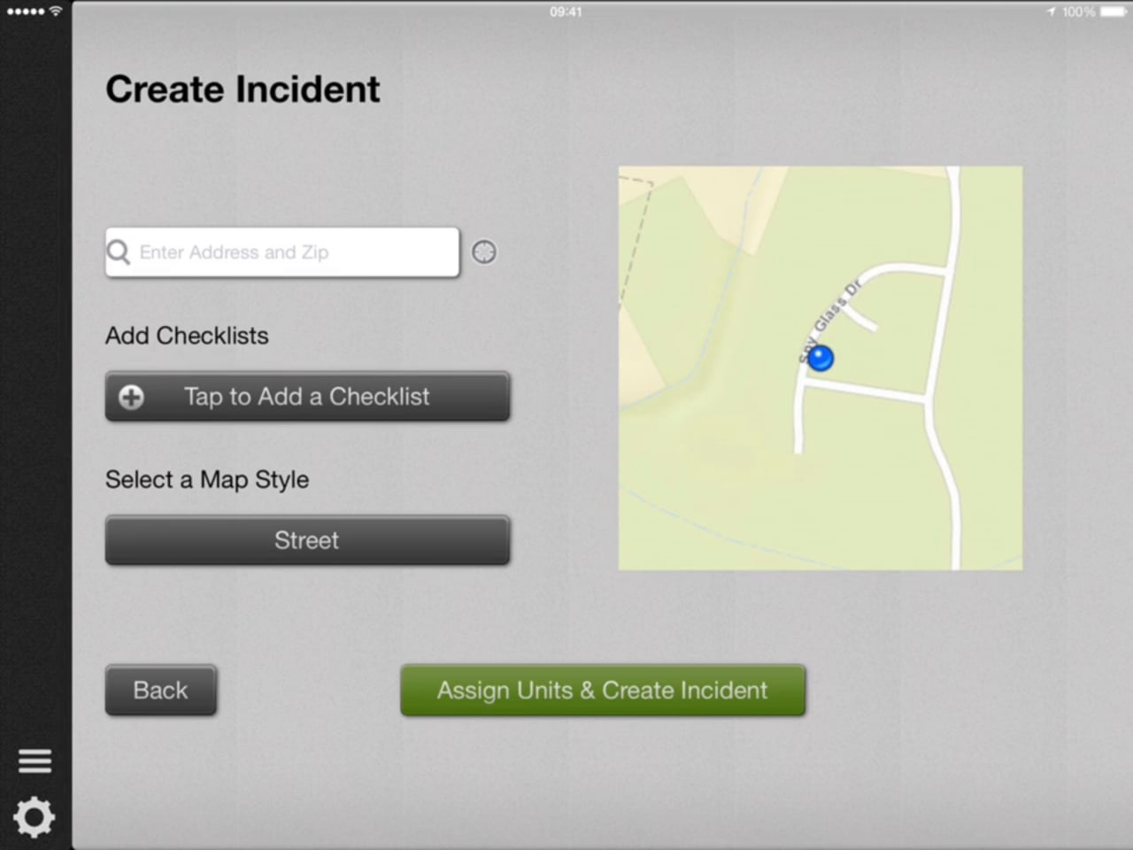 How to Create a New Incident