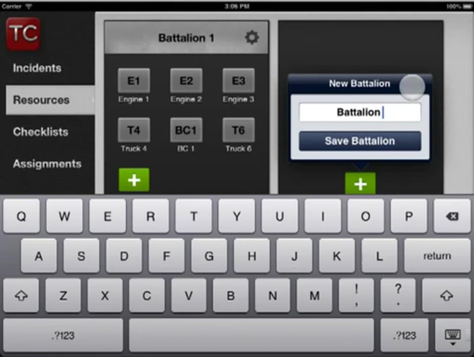 How to Configure Resources in Tablet Command